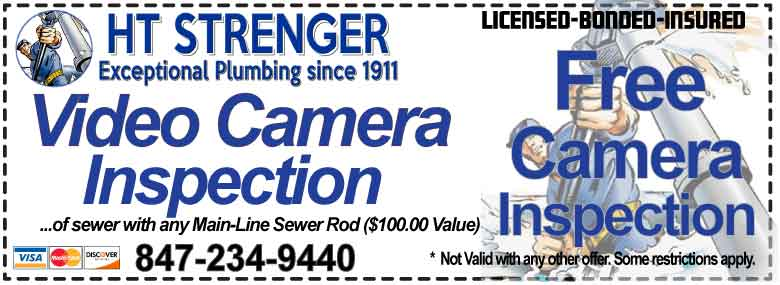 Camera Sewer Pipe Inspections - HT Strenger Plumbing Coupons Specials Coupons