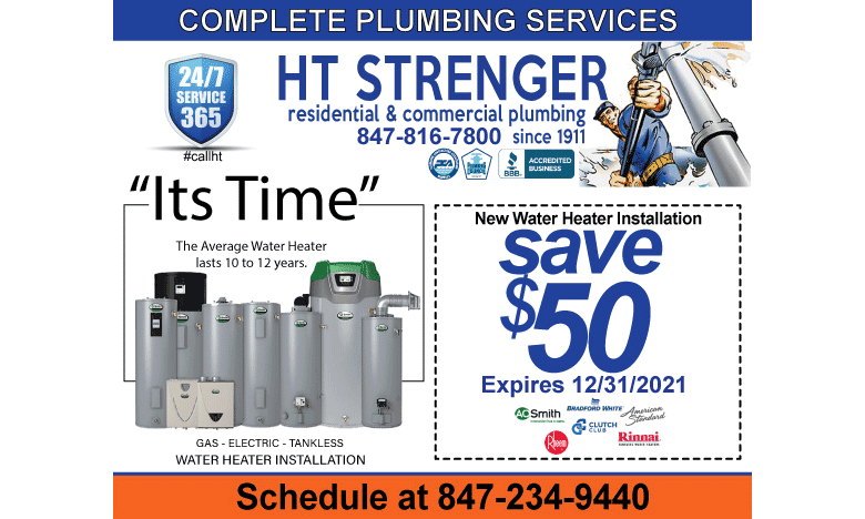 HT Strenger Water Heater Savings - HT Strenger Plumbing Coupons Specials Coupons